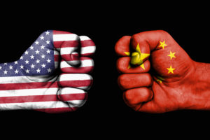 american fist, chinese fist