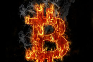 Burning bitcoin